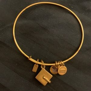 "Alex and Ani ""2016 graduation"" charm bracelet"
